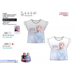 Camiseta manga corta 100% algodón frozen-SCV-UE1011-FROZEN