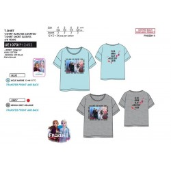 Camiseta manga corta 100% algodón frozen-SCV-UE1070-FROZEN