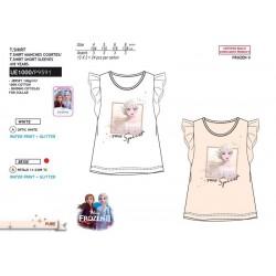 Camiseta manga corta 100% algodón frozen-SCV-UE1000-FROZEN