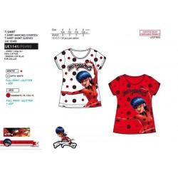 Camiseta manga corta 100% algodón lady bug-SCV-UE1141-LADY BUG