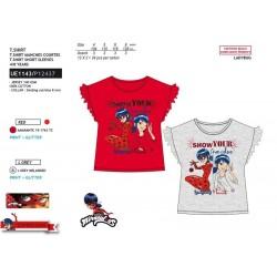 Camiseta manga corta 100% algodón lady bug-SCV-UE1143-LADY BUG