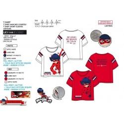 Camiseta manga corta 100% algodón lady bug-SCV-UE1144-LADY BUG