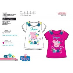 Camiseta manga corta 100% algodón peppa pig-SCV-UE1120-PEPPA PIG