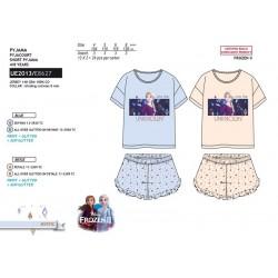 Pijama corto algodón frozen-SCV-UE2013-FROZEN