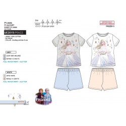 Pijama corto algodón frozen-SCV-UE2015-FROZEN