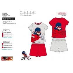 Pijama corto algodón lady bug-SCV-UE2046-LADY BUG