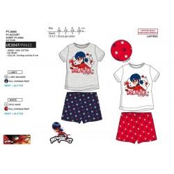 Pijama corto algodón lady bug-SCV-UE2047-LADY BUG