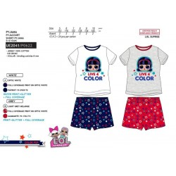 Pijama corto algodón lol-SCV-UE2041-LOL SURPRISE