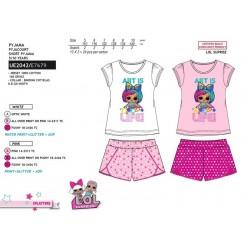 Pijama corto algodón lol-SCV-UE2042-LOL SURPRISE