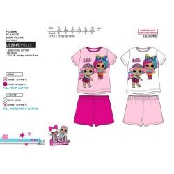 Pijama corto algodón lol-SCV-UE2045-LOL SURPRISE