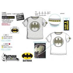 Camiseta manga corta 100% algodón batman-SCV-UE1051-BATMAN