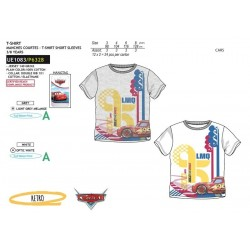 Camiseta manga corta 100% algodón cars-SCV-UE1083-CARS