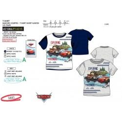 Camiseta manga corta 100% algodón cars-SCV-UE1086-CARS