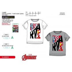 Camiseta manga corta 100% algodón los vengadores-SCV-UE1060-AVENGERS C