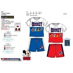 Conjunto camiseta manga corta & short 100% algodón mickey-SCV-UE1162-MICKEY
