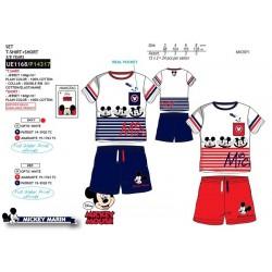 Conjunto camiseta manga corta & short 100% algodón mickey-SCV-UE1168-MICKEY