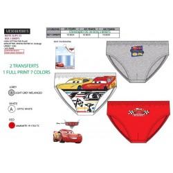 Pack 3 slips niño algodón cars-SCV-UE3038-CARS