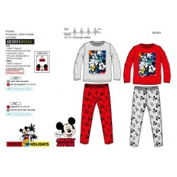 Pijama largo algodón mickey-SCV-UE2031-MICKEY