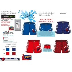 Short de baño magic print spiderman-SCV-UE1891-SPIDERMAN