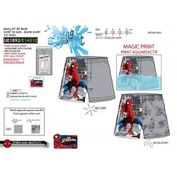 Short de baño magic print spiderman-SCV-UE1892-SPIDERMAN
