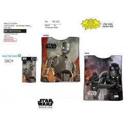 Capa de baño 100% algodón star wars-SCV-QE1767-STAR WARS
