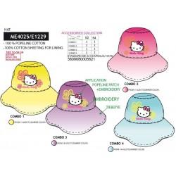 Sombrero 100% algodón hello kitty-SCV-ME4025-HELLO KITTY