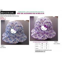 Sombrero 100% algodón hello kitty-SCV-ME4127-HELLO KITTY
