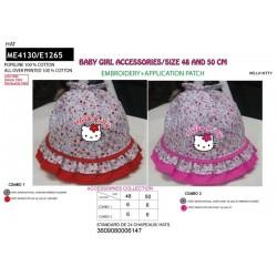 Sombrero 100% algodón hello kitty-SCV-ME4130-HELLO KITTY