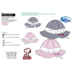 Sombrero 100% algodón snoopy-SCV-SE4062-SNOOPY