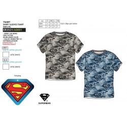 Camiseta manga corta 100% algodón superman-SCV-ER3531-SUPERMAN