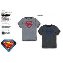 Camiseta manga corta 100% algodón superman-SCV-ER3533-SUPERMAN