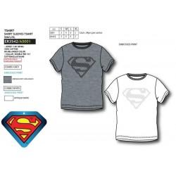 Camiseta manga corta 100% algodón superman-SCV-ER3542-SUPERMAN