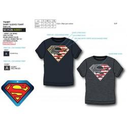 Camiseta manga corta 100% algodón superman-SCV-SE3528-SUPERMAN