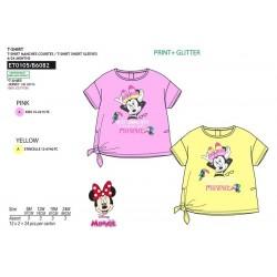 Camiseta manga corta 100% algodón minnie-SCV-ET0105-MINNIE