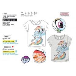 Camiseta manga corta 100% algodón mi pequeño pony-SCV-ET1190-MY LITTLE PONY