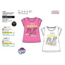 Camiseta manga corta 100% algodón mi pequeño pony-SCV-SE1258-MY LITTLE PONY