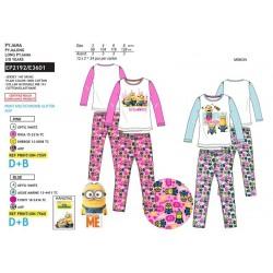 Pijama largo 100% algodón minions-SCV-EP2192-MINIONS