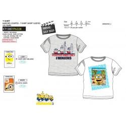 Camiseta manga corta 100% algodón minions-SCV-ET1387-MINIONS