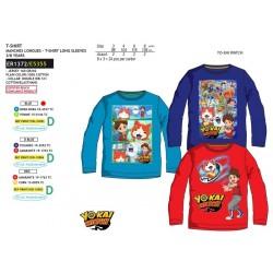 Camiseta manga larga 100% algodón yokai-SCV-ER1372-YOKAI WATC