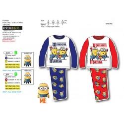 Pijama largo 100% algodón minions-SCV-EP2183-MINIONS