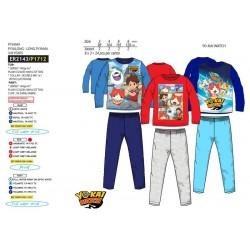 Pijama largo 100% algodón yokai-SCV-ER2143-YOKAI WATC