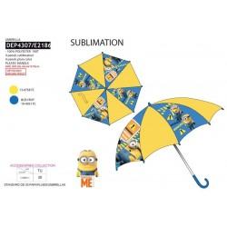 Paraguas d:65 h:55 100%pe minions-SCV-DEP4307-MINIONS