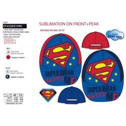 Gorra superman-SCV-ET4338-SUPERMAN