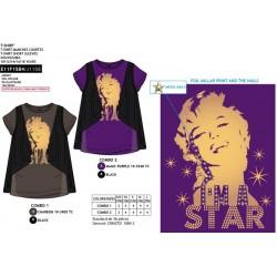 Camiseta manga corta marylin monroe-SCV-E11F1584-MARYLIN MONROE