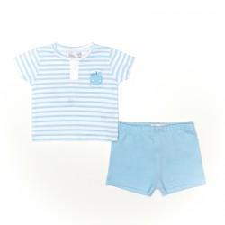 Conjunto corto bebe niño camiseta y pantalon-SMV-21402-Street Monkey