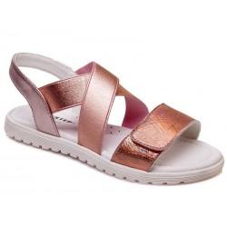 Sandalia piel cierre velcro-WEV-R230251052 CH-Weestep