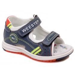 Sandalia piel cierre velcro-WEV-R511350001 CB-Weestep