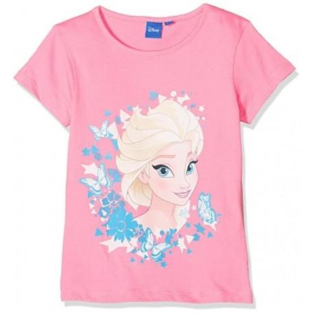 Camiseta mc 100%algodon FROZEN Niña