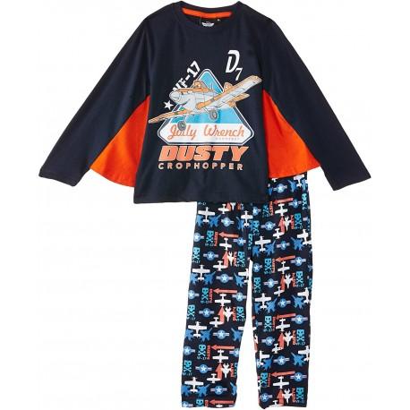 Pijama largo 100% algodón PLANES Niño