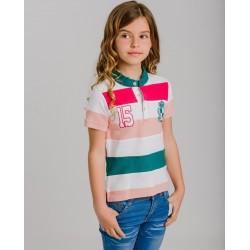 LOV-1021120302 La Ormiga ropa infnatil al por mayor Polo niña